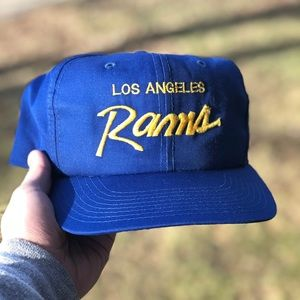 VINTAGE SPORTS SPECIALTIES LOS ANGELES RAMS SCRIPT